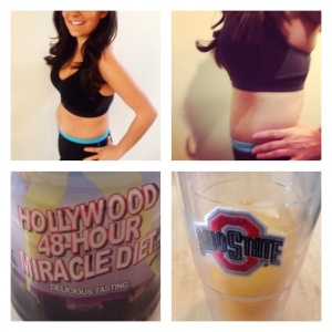 Thanks Hollywood 48 Hour Miracle diet!