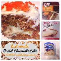 Carrot Cheesecake Cake